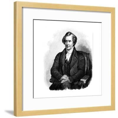 Dominique Francois Jean Arago (1786-185), French Astronomer, Physicist and Politician-Ary Scheffer-Framed Giclee Print