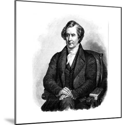 Dominique Francois Jean Arago (1786-185), French Astronomer, Physicist and Politician-Ary Scheffer-Mounted Giclee Print