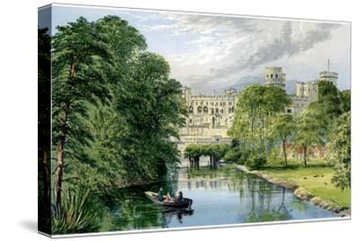 Warwick Castle, Warwickshire, Home of the Earl of Warwick, C1880-AF Lydon-Stretched Canvas Print