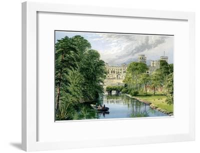 Warwick Castle, Warwickshire, Home of the Earl of Warwick, C1880-AF Lydon-Framed Giclee Print