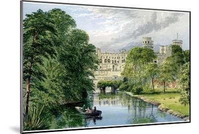 Warwick Castle, Warwickshire, Home of the Earl of Warwick, C1880-AF Lydon-Mounted Giclee Print