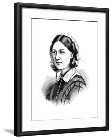 Florence Nightingale, 1870--Framed Giclee Print