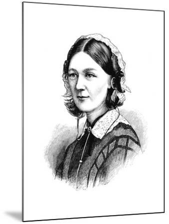 Florence Nightingale, 1870--Mounted Giclee Print