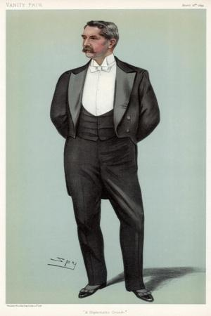 A Diplomatic Cousin' Henry White, American Diplomat, 1899-Spy-Framed Giclee Print