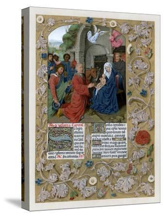 Adoration of the Magi, C1490-1497--Stretched Canvas Print