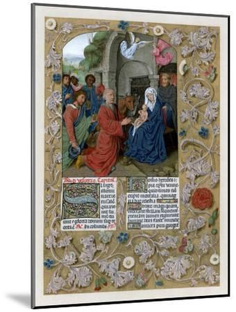 Adoration of the Magi, C1490-1497--Mounted Giclee Print