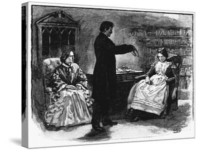 Hypnotism, 1891--Stretched Canvas Print