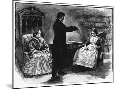 Hypnotism, 1891--Mounted Giclee Print
