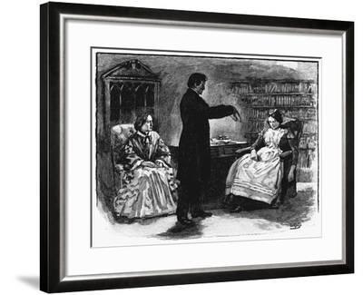 Hypnotism, 1891--Framed Giclee Print