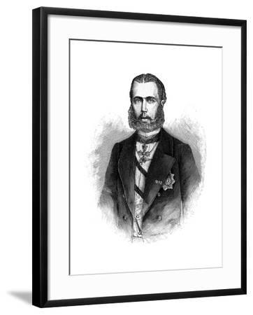 Maximilian I, Emperor of Mexico--Framed Giclee Print