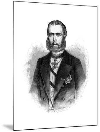 Maximilian I, Emperor of Mexico--Mounted Giclee Print