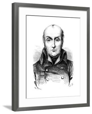 Nicolas Francois Appert (1749-184), French Chef and Inventor, C1870--Framed Giclee Print
