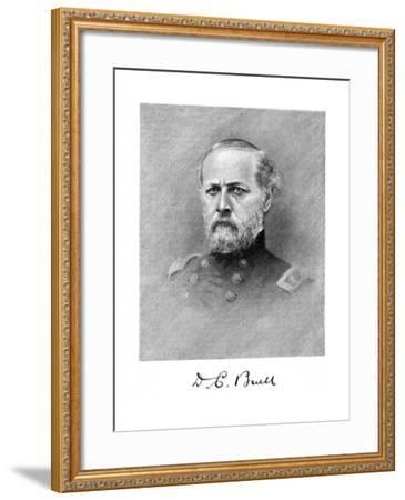 Don Carlos Buell, American Soldier--Framed Giclee Print