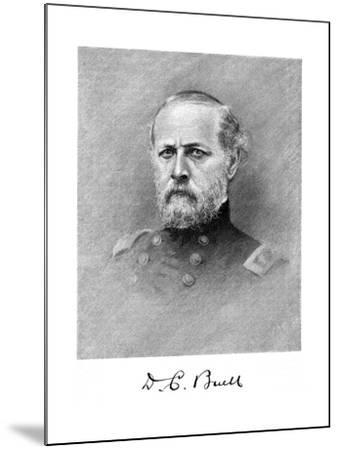 Don Carlos Buell, American Soldier--Mounted Giclee Print