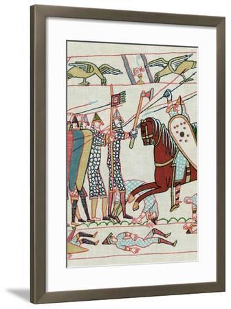 Battle of Hastings, 1066--Framed Giclee Print