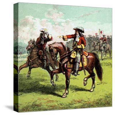 The Duke of Marlborough, Early 18th Century--Stretched Canvas Print