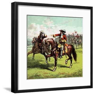 The Duke of Marlborough, Early 18th Century--Framed Giclee Print