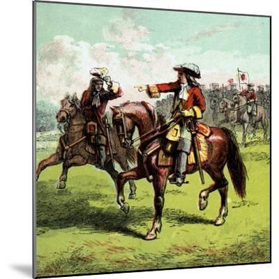 The Duke of Marlborough, Early 18th Century--Mounted Giclee Print