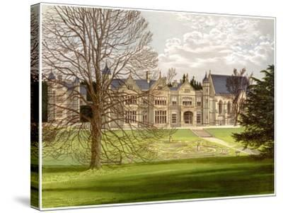Exton House, Rutland, Home of the Earl of Gainsborough, C1880-AF Lydon-Stretched Canvas Print