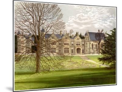 Exton House, Rutland, Home of the Earl of Gainsborough, C1880-AF Lydon-Mounted Giclee Print