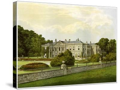 Studley Royal, Yorkshire, Home of the Marquess of Ripon, C1880-AF Lydon-Stretched Canvas Print