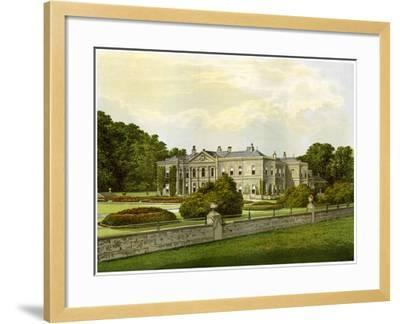 Studley Royal, Yorkshire, Home of the Marquess of Ripon, C1880-AF Lydon-Framed Giclee Print