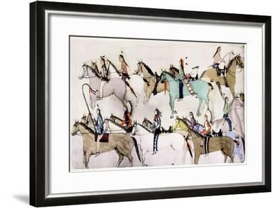 End of the Battle, C1900--Framed Giclee Print