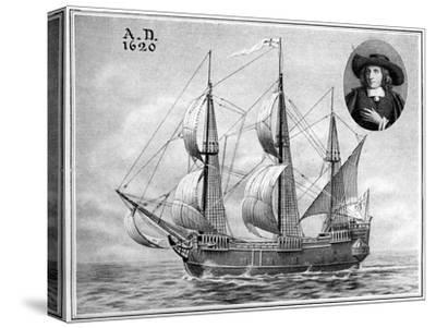 A Representation of the Mayflower, 1922--Stretched Canvas Print