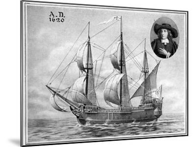 A Representation of the Mayflower, 1922--Mounted Giclee Print