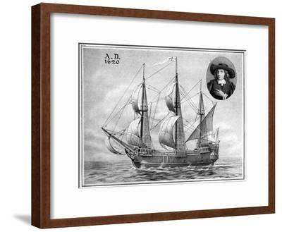 A Representation of the Mayflower, 1922--Framed Giclee Print