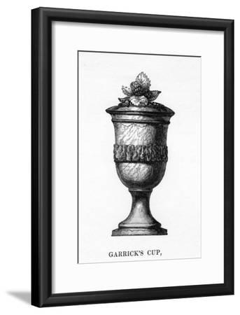 Garrick's Cup, Carved from Shakespeare's Mulberry Tree, 18th Century--Framed Giclee Print