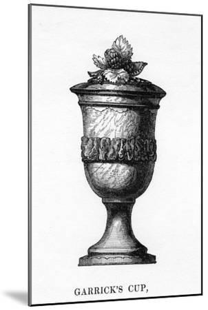 Garrick's Cup, Carved from Shakespeare's Mulberry Tree, 18th Century--Mounted Giclee Print