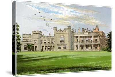 Knowsley Hall, Lancashire, Home of the Earl of Derby, C1880-AF Lydon-Stretched Canvas Print