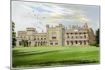 Knowsley Hall, Lancashire, Home of the Earl of Derby, C1880-AF Lydon-Mounted Giclee Print