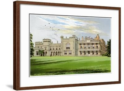 Knowsley Hall, Lancashire, Home of the Earl of Derby, C1880-AF Lydon-Framed Giclee Print
