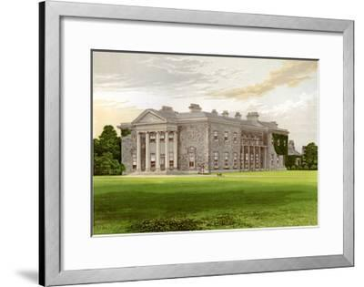 Bishopscourt, County Kildare, Ireland, Home of the Earl of Clonmel, C1880-AF Lydon-Framed Giclee Print