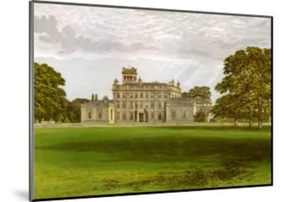 Locko Park, Derbyshire, Home of the Drury-Lowe Family, C1880-AF Lydon-Mounted Giclee Print