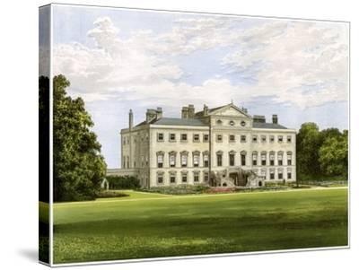 Lathom House, Lancashire, Home of Lord Skelmersdale, C1880-AF Lydon-Stretched Canvas Print