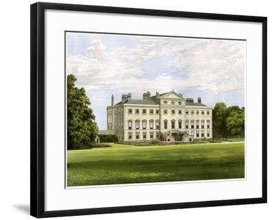 Lathom House, Lancashire, Home of Lord Skelmersdale, C1880-AF Lydon-Framed Giclee Print