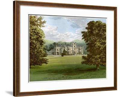 Dunmore Park, Stirlingshire, Scotland, Home of the Earl of Dunmore, C1880-AF Lydon-Framed Giclee Print