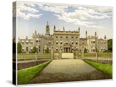 Bulwell Hall, Nottinghamshire, Home of the Cooper Family, C1880-Benjamin Fawcett-Stretched Canvas Print