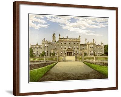 Bulwell Hall, Nottinghamshire, Home of the Cooper Family, C1880-Benjamin Fawcett-Framed Giclee Print