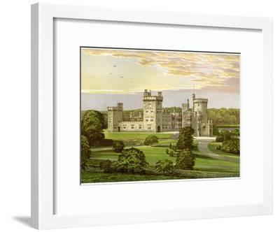 Dromoland, County Clare, Ireland, Home of Lord Inchiquin, C1880-AF Lydon-Framed Giclee Print