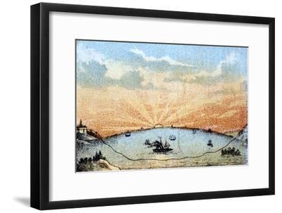 The Atlantic Telegraph, C1878--Framed Giclee Print