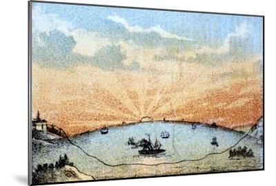 The Atlantic Telegraph, C1878--Mounted Giclee Print
