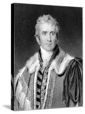 William Pitt Amherst, 1st Earl Amherst of Arracan (1773-185), British Statesman-Thomas Lawrence-Stretched Canvas Print