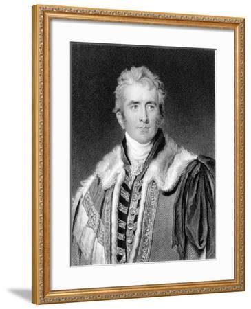 William Pitt Amherst, 1st Earl Amherst of Arracan (1773-185), British Statesman-Thomas Lawrence-Framed Giclee Print