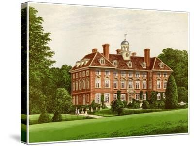 Tyttenhanger Park, Hertfordshire, Home of the Countess of Caledon, C1880-AF Lydon-Stretched Canvas Print