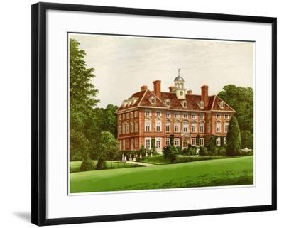 Tyttenhanger Park, Hertfordshire, Home of the Countess of Caledon, C1880-AF Lydon-Framed Giclee Print