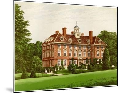 Tyttenhanger Park, Hertfordshire, Home of the Countess of Caledon, C1880-AF Lydon-Mounted Giclee Print
